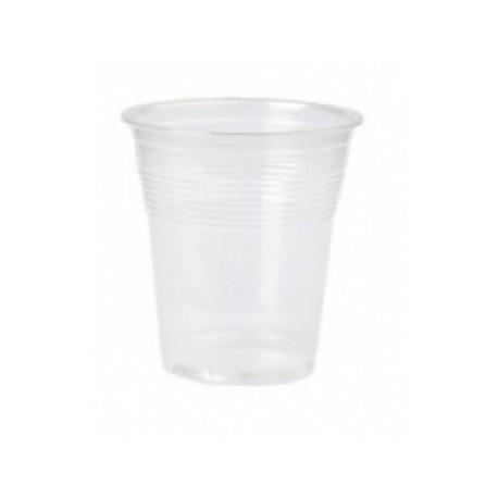 Vaso 100cc plástico Transparente, 4800 unid