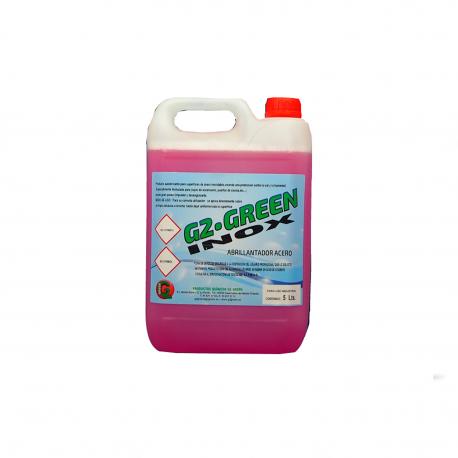 Limpiador abrillantador de acero inoxidable 5 litros