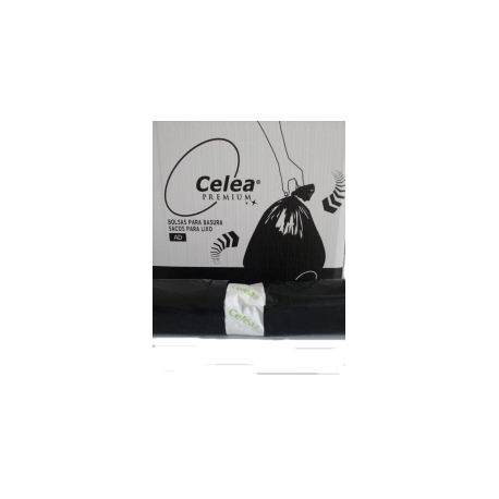 Bolsa de Basura 52x60 negra 25 unidades