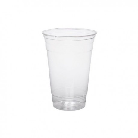 Vaso PLA Compostable 400 ml transparente 1000 unid