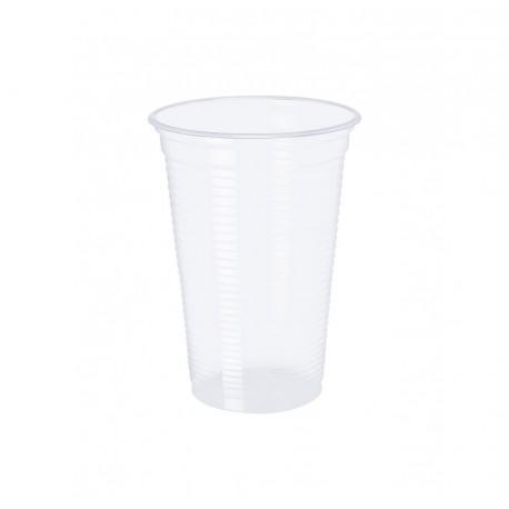 Vaso Plástico Transparente 330cc 2000 unidades