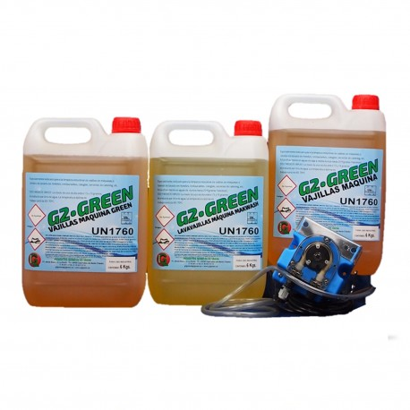 Detergente Lavavajillas Aguas Blandas 6 Kg