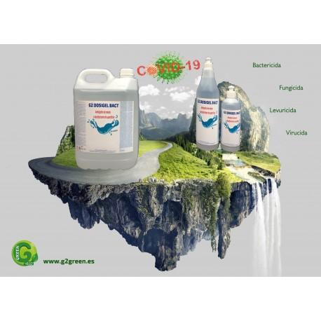 Gel de manos Hidroalcohólico y Limpia superficies 5L
