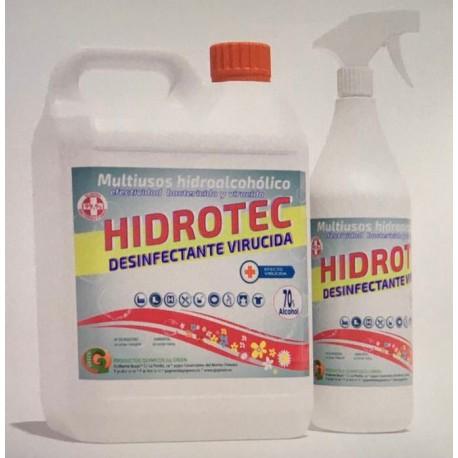Limpiador Multiusos Hidroalcohólico Bactericida 5L
