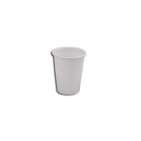 Vaso Plástico Blanco 200cc, 3000 unidades